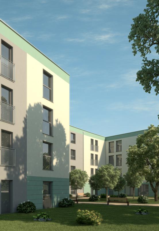 Bilder aus dem Beitrag: 3D Architekturvisualisierung ''Seniorenheim Germering''