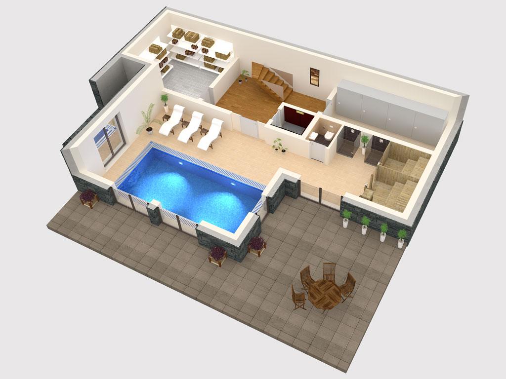 Apartment 3d floor plan | 3D floor plans | marketing | 3DM Digital